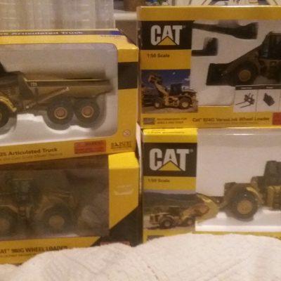 Nya Cat modeller i Skalan 1.50